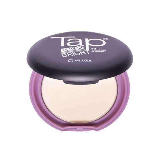 Cosluxe Tap Blur & Bright air compact powder 9 g.