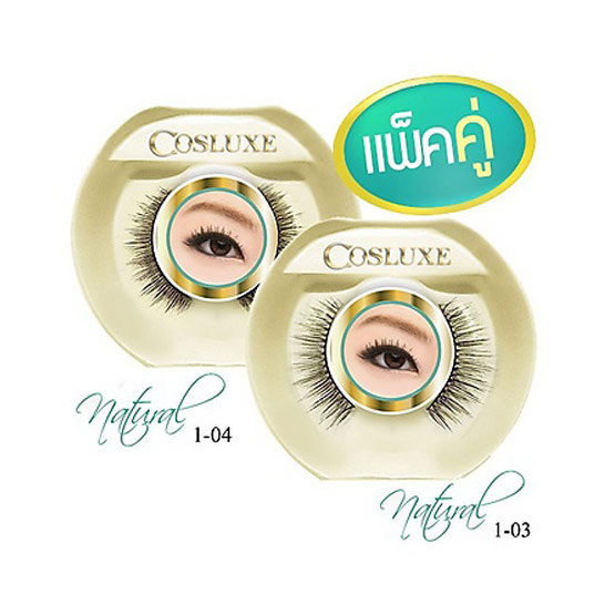 Cosluxe eyelash natural#1-03+1-04