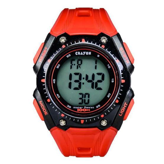Crayon นาฬิกาข้อมือ รุ่น CR3.181-RED