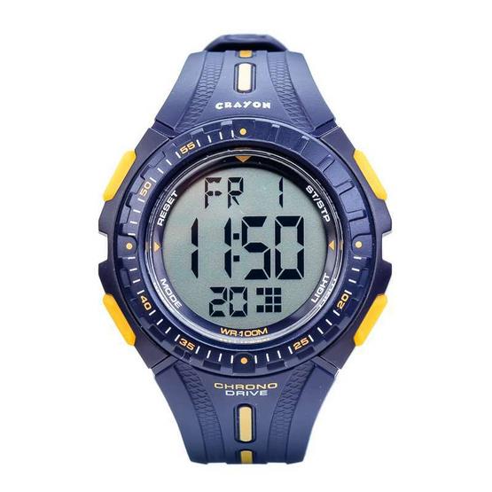 Crayon นาฬิกาข้อมือ รุ่น CR3.182-BLUE