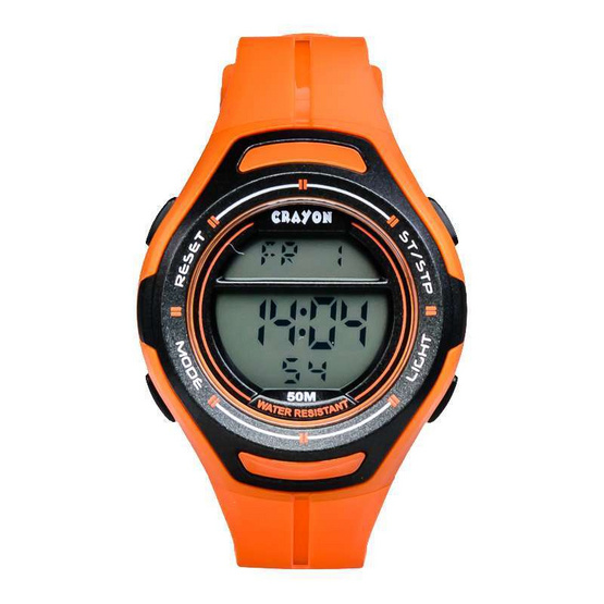 Crayon นาฬิกาข้อมือ รุ่น CR3.183-ORANGE