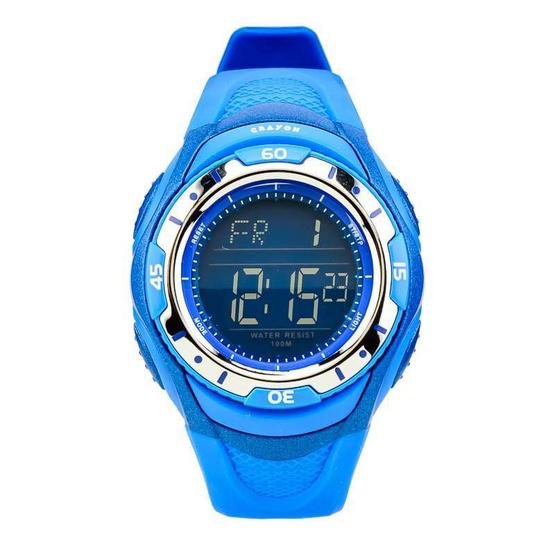 Crayon นาฬิกาข้อมือ รุ่น CR3.185-BLUE