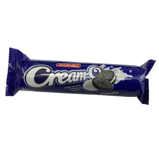 Cream-O ครีม-โอ คุกกี้แซนวิช ครีมวานิลลา ขนาด 80 g. (24 ชิ้น)