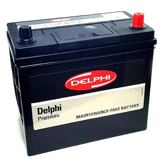 DELPHI แบตเตอรี่ สีดำ รุ่น 55B24RS-SMF