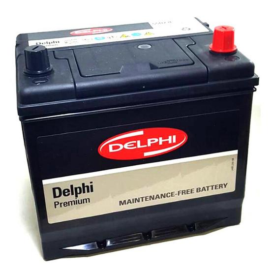 DELPHI แบตเตอรี่ สีดำ รุ่น 55D23L-SMF