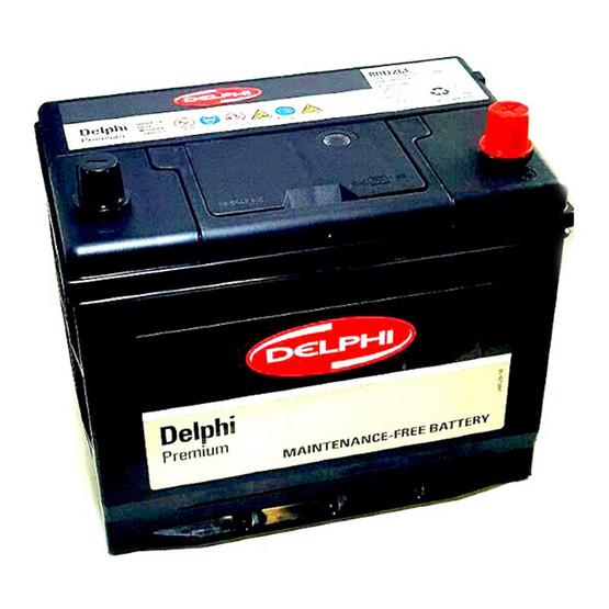 DELPHI แบตเตอรี่ สีดำ รุ่น 80D26L-SMF
