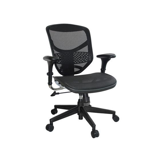 DF Prochair Ergonomic chair (Enjoy Series) เก้าอี้เพื่อสุขภาพ รุ่น JJ สีดำ