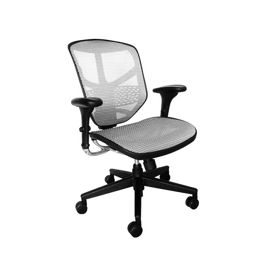 DF Prochair Ergonomic chair (Enjoy Series) เก้าอี้เพื่อสุขภาพ รุ่น JJ สีขาว
