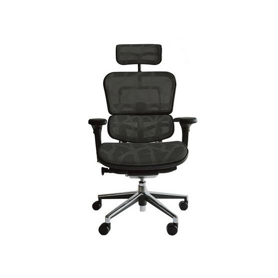 DF Prochair Ergonomic chair (Ergohuman Series) เก้าอี้สำนักงาน มีที่รองศีรษะ ตามหลักสรีศาสตร์ เพื่อสุขภาพ รุ่น EH2 สีดำ (ได้รับรางวัลเก้าอี้สำนักงาน ติดอันดับ Top 10 ของ Ergonomic chair)