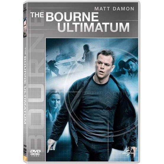 DVD The Bourne Ultimatum ปิดเกมล่าจารชน คนอันตราย