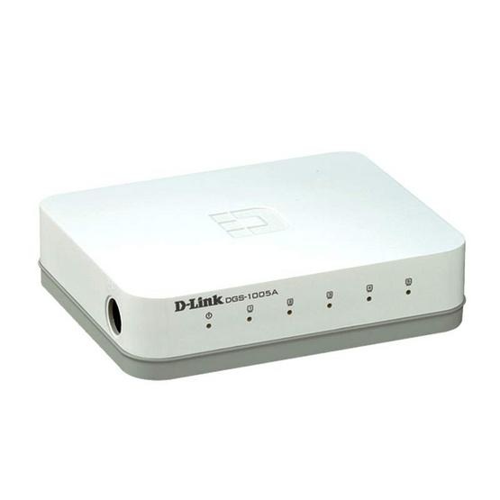 D-Link 5-port 10/100/1000Mbps Unmanaged Gigabit Swtich (DGS-1005A)