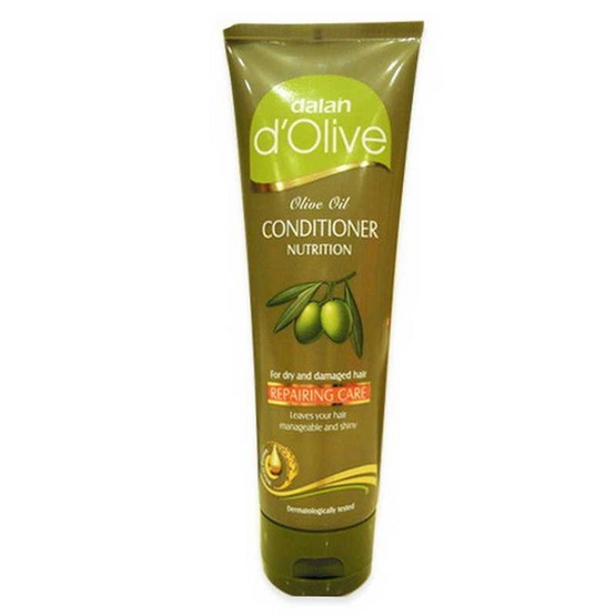 Dalan d'Olive Conditioner. White Colour Shampoo Item. 200 mL.