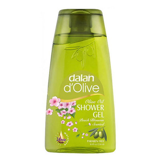 Dalan d'Olive Shower Gel Peach Blossom 250 ml.
