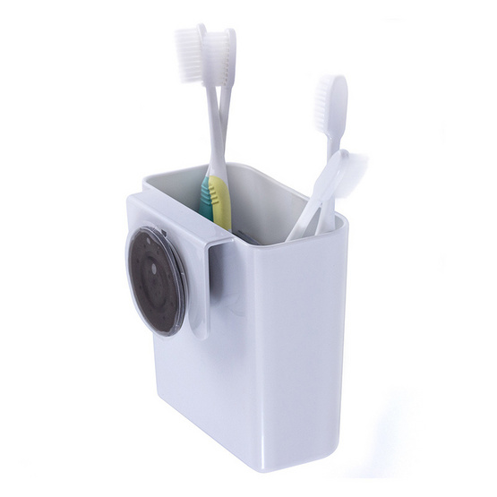 DeHUB ที่ใส่แปรงสีฟัน DEHUB PKT120-WH40 ขาว(Super Suction)