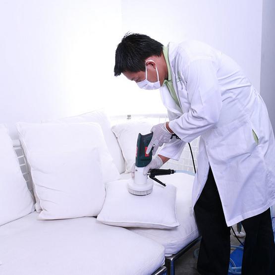 De Hygienique บริการทำความสะอาดและฆ่าเชื้อโรคโซฟาผ้าหรือหนัง