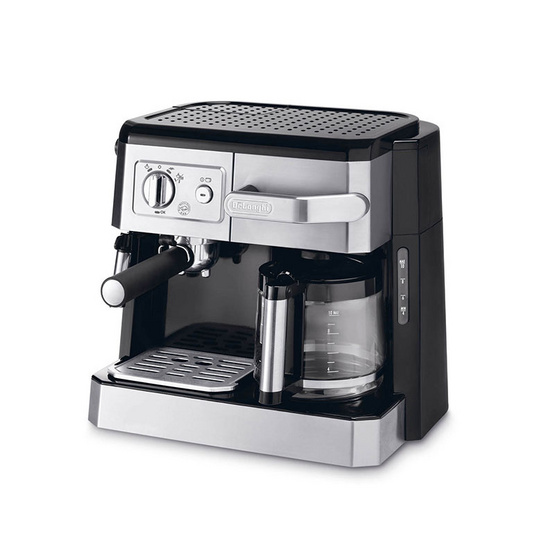 Delonghi เครื่องชงกาแฟแบบ Combi BCO420 สีดำ