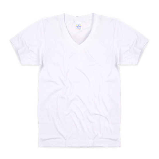 Double Goose 215 เสื้อคอวีบุรุษสีขาว Pack 3 รุ่น Original