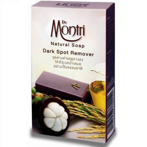 Dr.montri Natural Soap Dark Spot Remover 4 Pcs ลดจุดด่างดำ ผิวดูสม่ำเสมอ