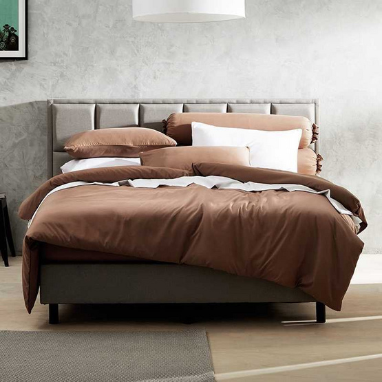 Dunlopillo  ผ้าปูที่นอน5ฟุต5ชิ้น Softatex  DL-Col-Slate