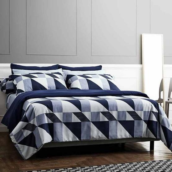 Dunlopillo ผ้าปูที่นอน รุ่น Softatex 3.5 ฟุต 3 ชิ้น + ผ้านวม 70x100 นิ้ว DL-07