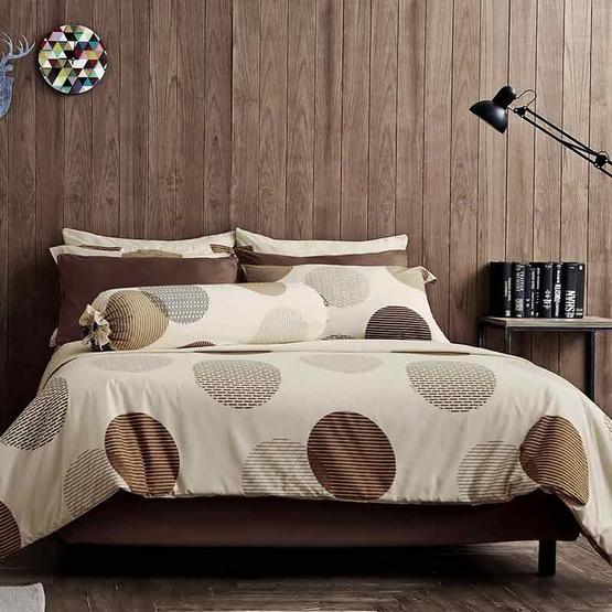 Dunlopillo ผ้าปูที่นอน รุ่น Softatex 5 ฟุต 5 ชิ้น + ผ้านวม 90x100 นิ้ว DL-03