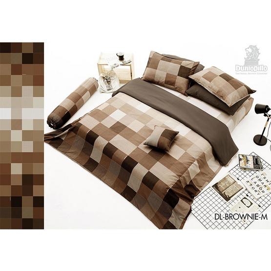 Dunlopillo ผ้านวม+ผ้าปู Softatex DL-05B BROWNE