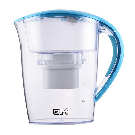 ECO Lite เหยือกกรองน้ำดื่ม สีฟ้า