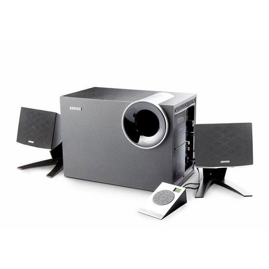 Edifier M1386 Bl 2.1 Multimedia Speaker With Fm Radio&Usb/Sd Card Input