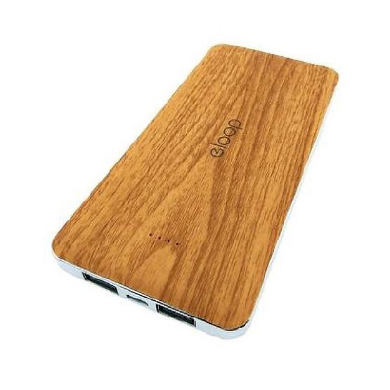 Eloop Power Bank 13000 mAh E13 Wooden