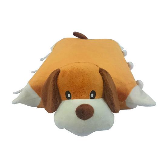 Erawan หมอนยางพาราธรรมชาติ100% ตุ๊กตา มีซิป DP14 สุนัข