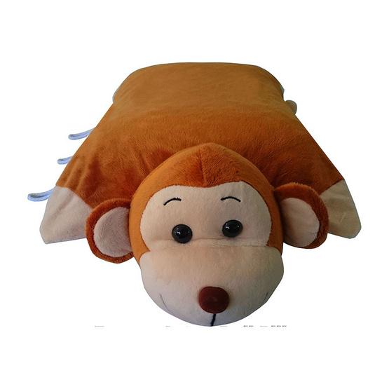 Erawan หมอนยางพาราธรรมชาติ100% ตุ๊กตา มีซิป DP18 ลิง