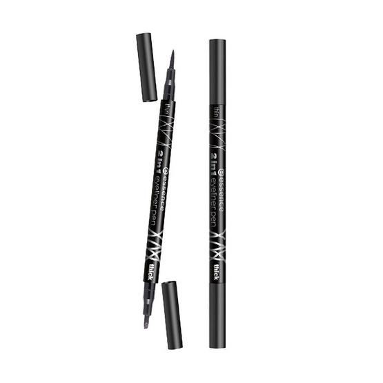 Essence2in1 eyesliner pen 1ml.
