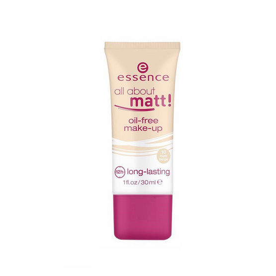 Essence all about matt! oil-free make-up foundation 30ml. #10