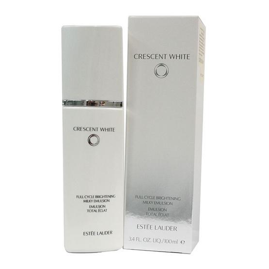 ราคาส่ง !! Estee Lauder Crescent White Full Cycle Brightening Milky Emulsion 100ml - Estee lauder, ผลิตภัณฑ์ความงาม