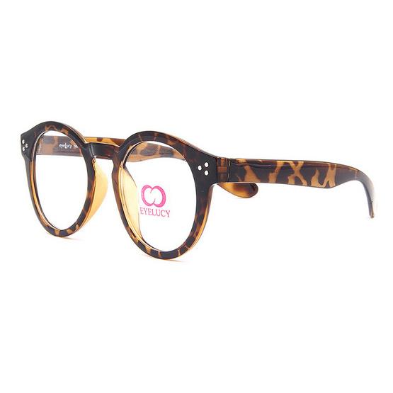 Eyelucy กรอบแว่นตา รุ่น DS084-C3 สีน้ำตาลลายกะ