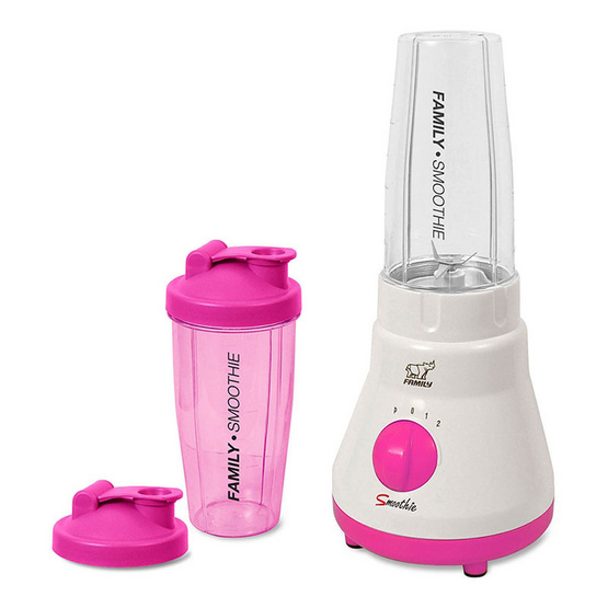 Family เครื่องปั่นสมูทตี้และน้ำผลไม้ BD-05 - Pink