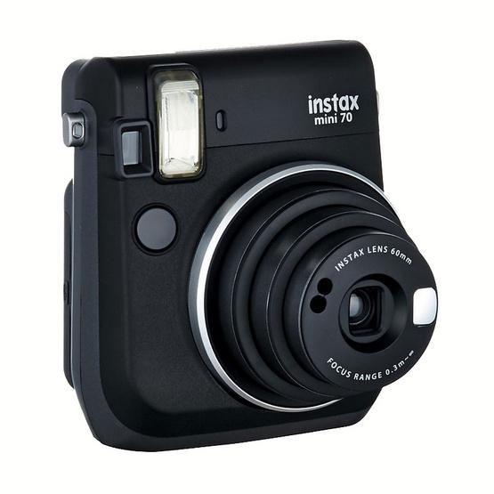 Fujifilm Instax Mini 70 Midnight Black (ประกันศูนย์ 1 ปี)