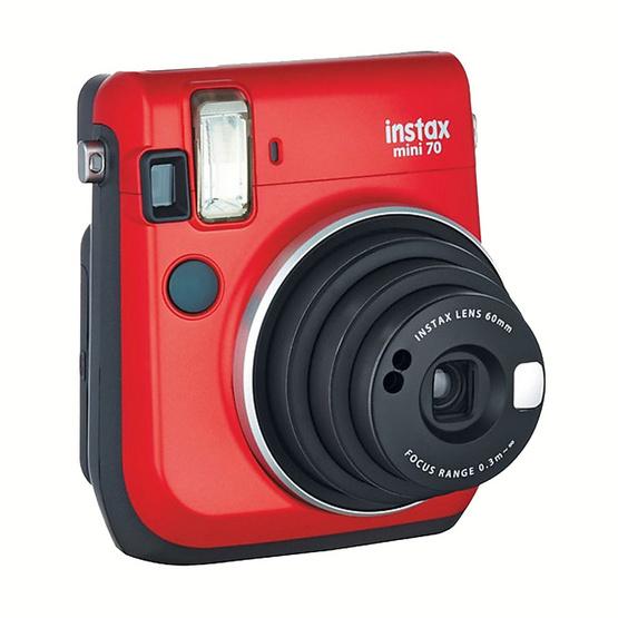 Fujifilm Instax Mini 70 Passion Red (ประกันศูนย์ 1 ปี)