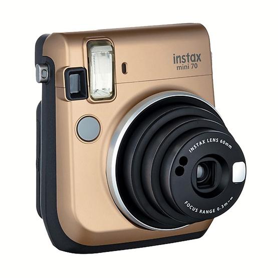 Fujifilm Instax Mini 70 Stardust Gold (ประกันศูนย์ 1 ปี)