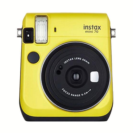 Fujifilm กล้อง Instax Mini 70 Yellow (ประกันศูนย์ 1 ปี)