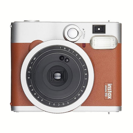 Fujifilm กล้อง Instax Mini 90 Neo Classic Brown (ประกันศูนย์ 1 ปี)