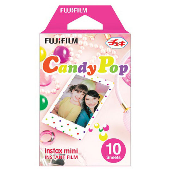 Fujifilm ฟิล์ม Instax Mini Film ลาย Candy Pop