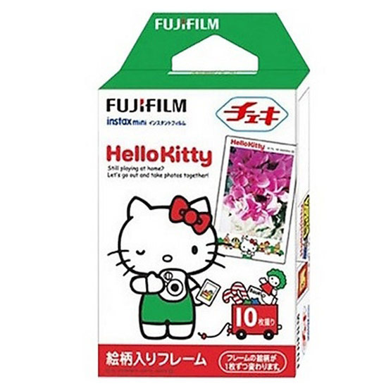 Fujifilm ฟิล์ม Instax Mini Film ลาย Hello Kitty