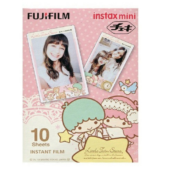 Fujifilm ฟิล์ม Instax Mini Film ลาย Little Twin Star