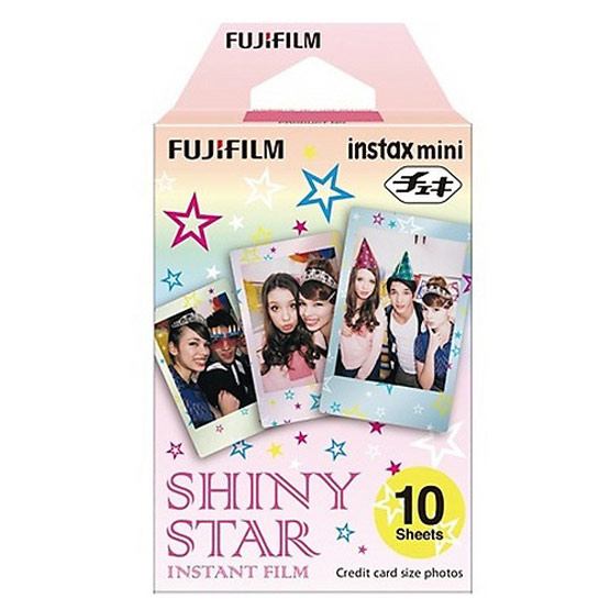 Fujifilm ฟิล์ม Instax Mini Film ลาย Shiny Star