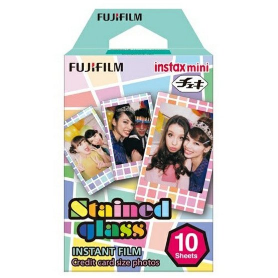 Fujifilm ฟิล์ม Instax Mini Film ลาย Stained Glass