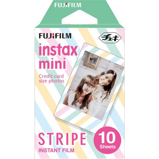 Fujifilm ฟิล์ม Instax Mini Film ลาย Stripe WW1 - A