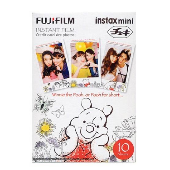 Fujifilm ฟิล์ม Instax Mini Film ลาย Winnie The Pooh 2