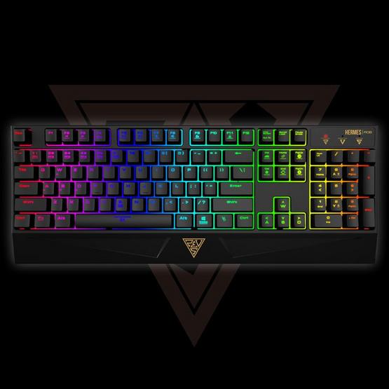 GAMDIAS Gaming Keyboard Hermes RGB