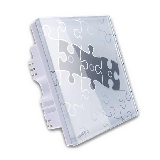 GRATIA Switch Jigsaw รุ่น GREJ03-W สีขาว